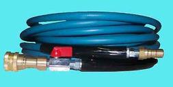 "200' High Pressure Blue Solution Hose 1/4"" Carpet Cleaning M"
