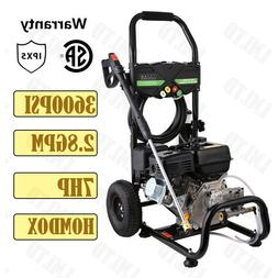 3600PSI 2.8GPM Electric / Gas Pressure Washer Auto Water Jet
