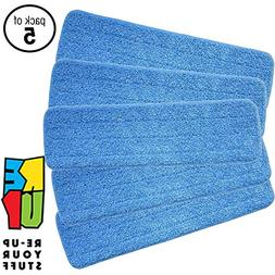 Re-Up Your Stuff Microfiber Spray Mop Replacement Heads for