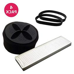 Think Crucial Replacements for Bissell Belts & 2 Filters Fit