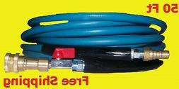 Blue Carpet Cleaning Truck Mount Wand Solution Hose 3000 PSI