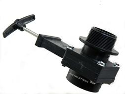 Carpet Cleaning - Extractor Drain Valve