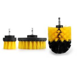 Electric Drill Brush Kit Plastic Round <font><b>Cleaning</b>