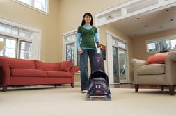 Heat Steam Upright Carpet Cleaner Shampooer Home Powerful De