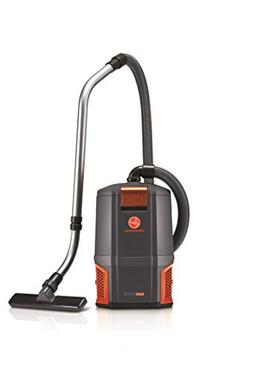 HushTone Backpack Vacuum Cleaner, 11.7 lb, Gray/Orange
