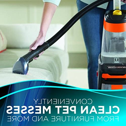 BISSELL Pet Size Upright Carpet Shampooer Stain