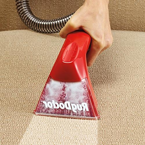 Rug Deep Cleaner; Portable Deep Cleaning for and and on Carpet Includes Upholstery Tool Caddy