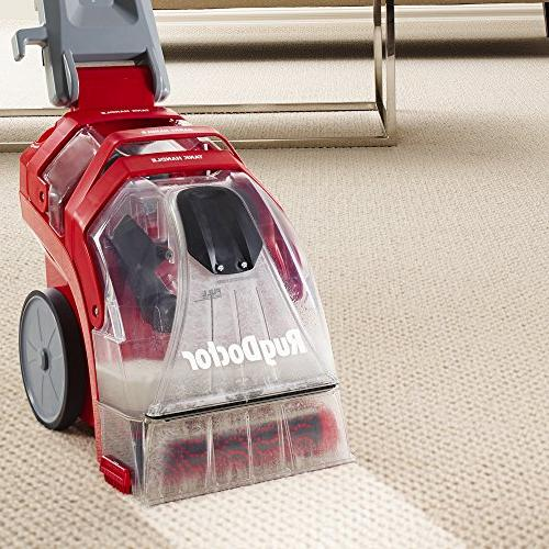 Rug Doctor Cleaner; Upright Deep Cleaning Machine and Extracts and Removes Stubborn Stains on Carpet and Includes Upholstery Tool Caddy