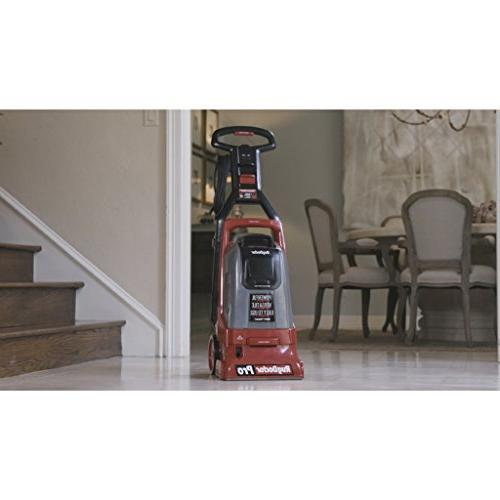 Rug Pro Carpet Deep Removes Dirt, and Odors; Grooms and Carpet Fibers