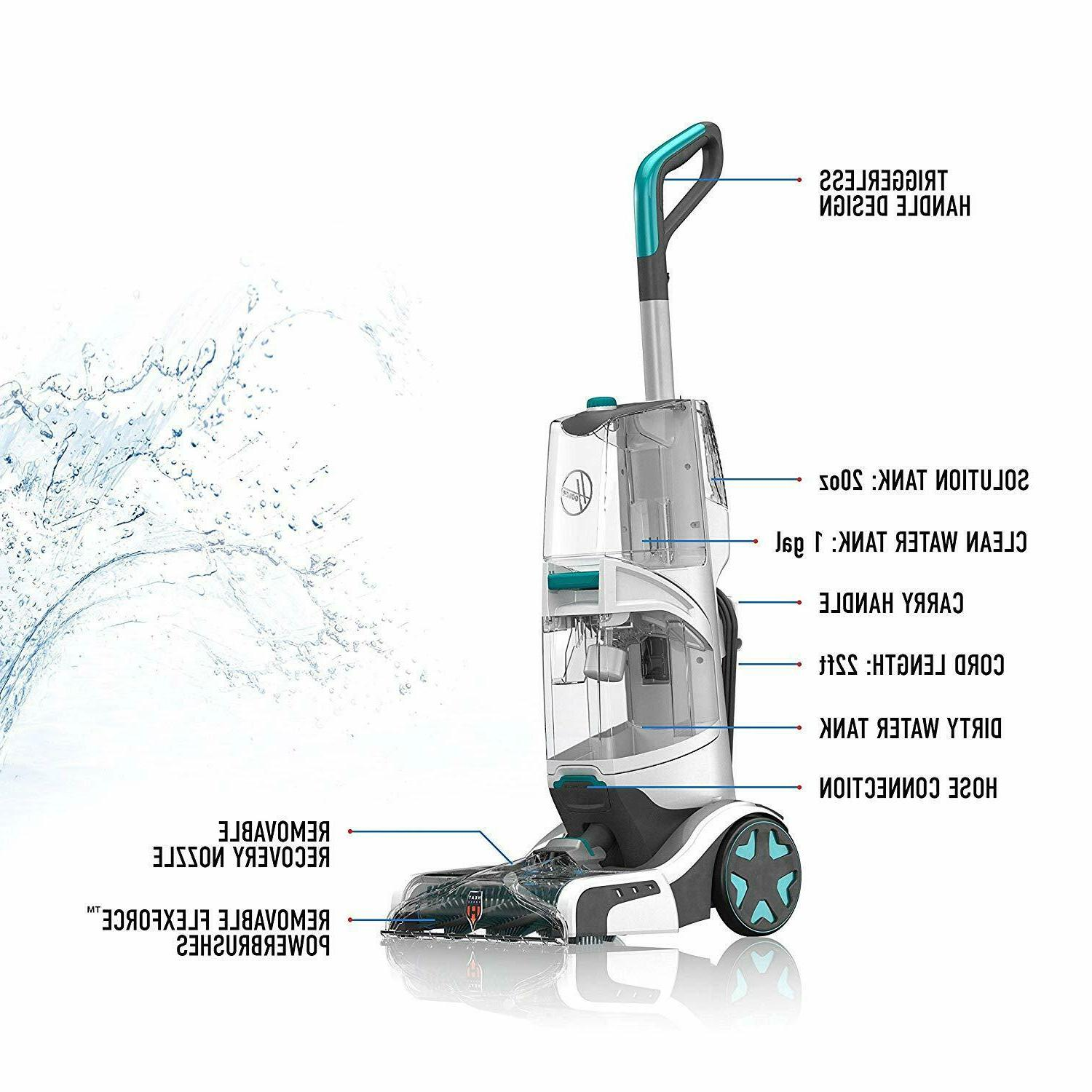 Hoover Carpet Cleaner Machine Automatic Lightweight
