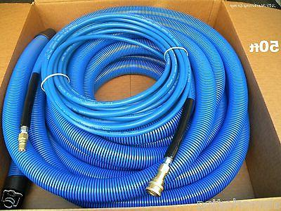 carpet cleaning 50ft vacuum solution hoses 1