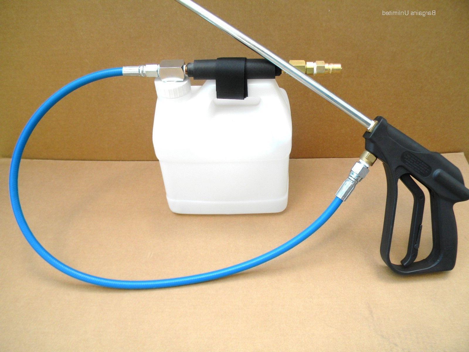 carpet cleaning high pressure in line sprayer