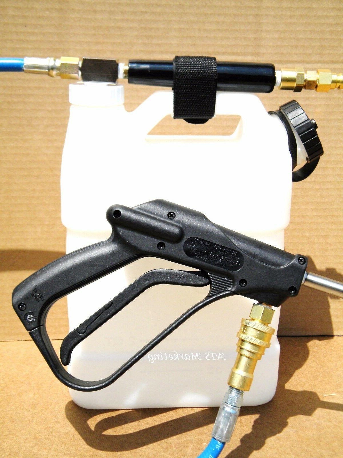 carpet cleaning high pressure inline injection sprayer