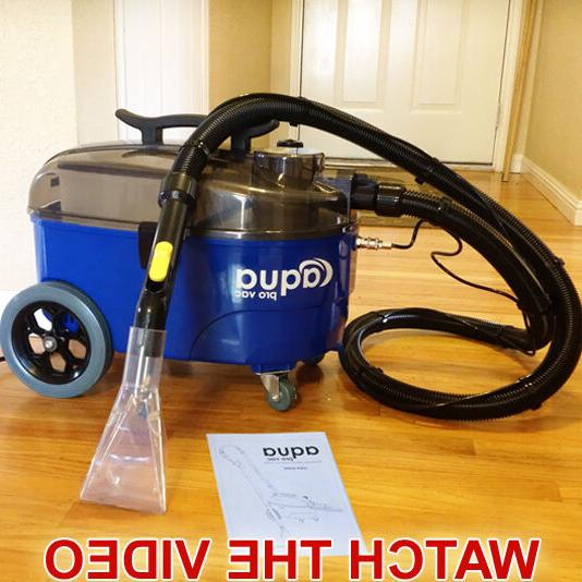 carpet cleaning machine spotter extractor auto detailing