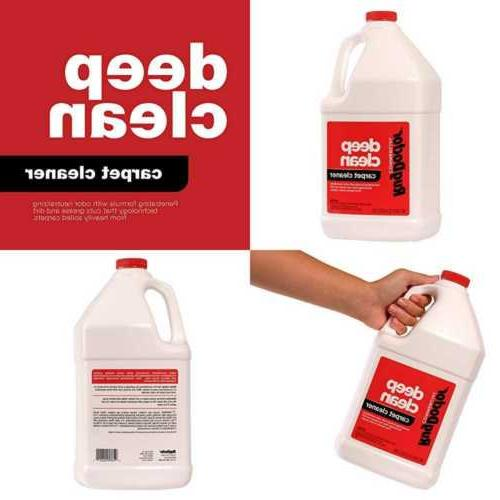 industrial deep carpet cleaning solution
