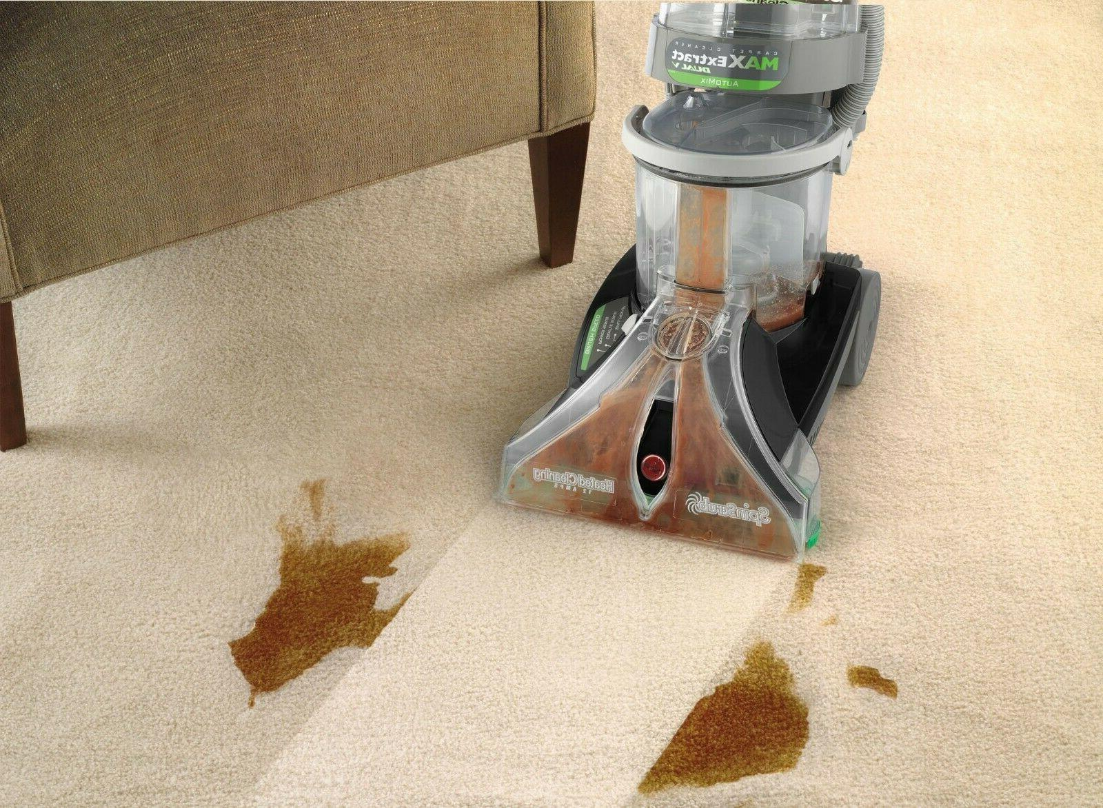 New Hoover F7427-900 Extract Dual Wide Path Cleaner