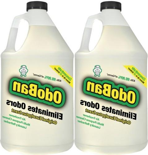 OdoBan Odor Eliminator Gallons Concentrate Makes To 64