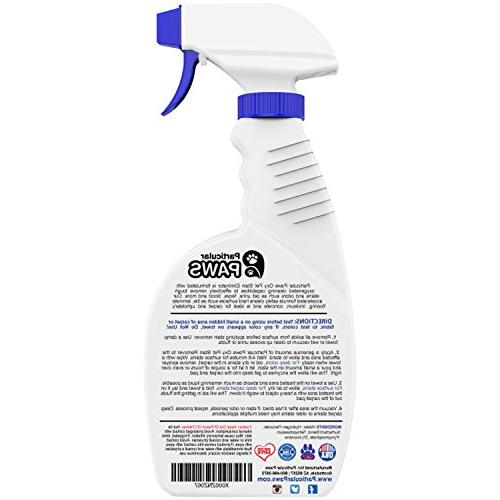 Particular Paws Stain Remover Cleaning - Tough and Stains with - and Even - 32oz