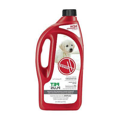 HOOVER 2X PetPlus Pet Stain & Odor Remover 32 oz, AH30325NF,