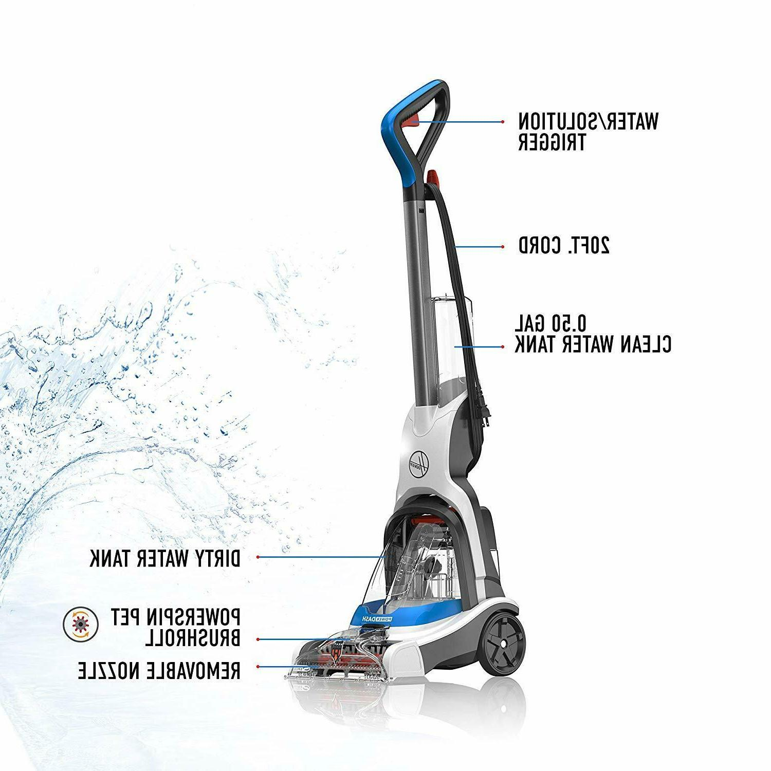 Hoover PowerDash Pet Cleaner Cleaning