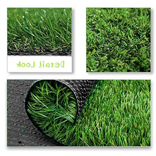 SV Household Decor Realistic Deluxe Artificial Grass Thick Carpet -Perfect for )
