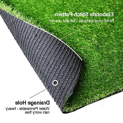 SV Decor Deluxe Grass Thick Lawn Turf -Perfect )