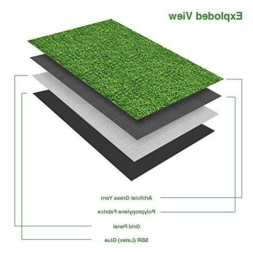 SV Household Deluxe Artificial Grass Thick -Perfect )