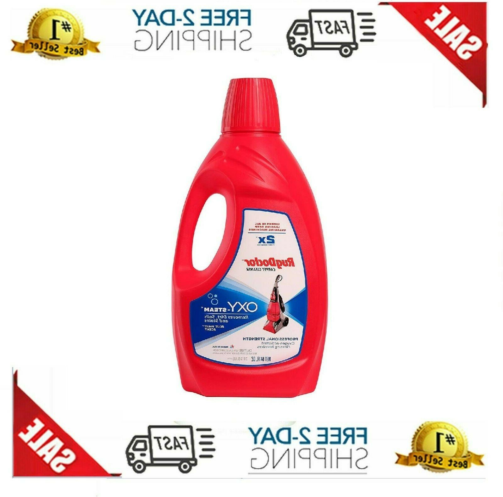 rug doctor oxy steam cleaning solution removes