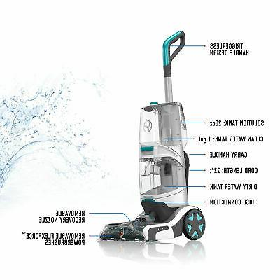 Hoover SmartWash Lightweight Deep Clean Cleaner, Silver