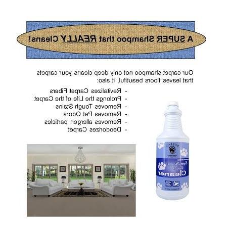 Bubbas Super Cleaner. REMOVER SHAMPOO. of Solution Gallon of Rug, or Carpet Cleaning