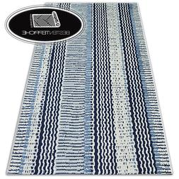 "Modern Sisal Carpet "" Color "" White Flat Woven Art Steam Des"