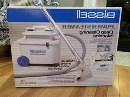 NEW!! BISSELL POWER STEAMER Deep Cleaning Machine Carpet Uph