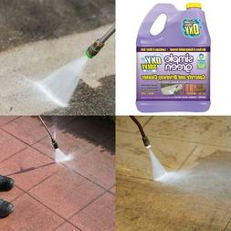 Simple Green Oxy Solve Concrete And Driveway Pressure Washer