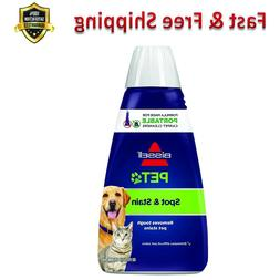 Pet Stain 2X Odor Portable Machine Formula 32 Ounces Househo
