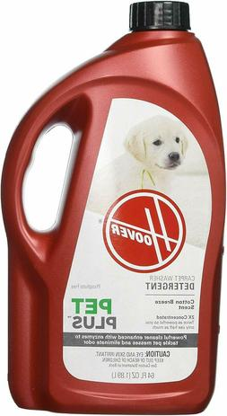 Hoover PETPLUS Concentrated Formula, 64oz, 32oz, Pet Stain a