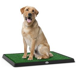 Artificial Grass Bathroom Mat for Puppies and Small Pets- Po