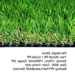 realistic deluxe artificial grass synthetic